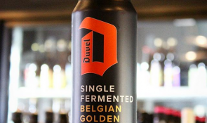 Duvel single fermented cans are hitting the shelves