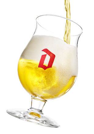 Duvel on tap