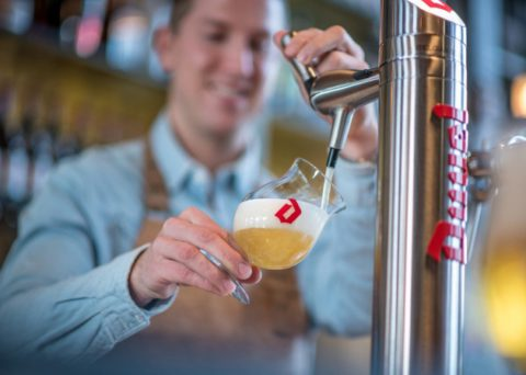 UNIQUE IN THE WORLD: DUVEL ON TAP