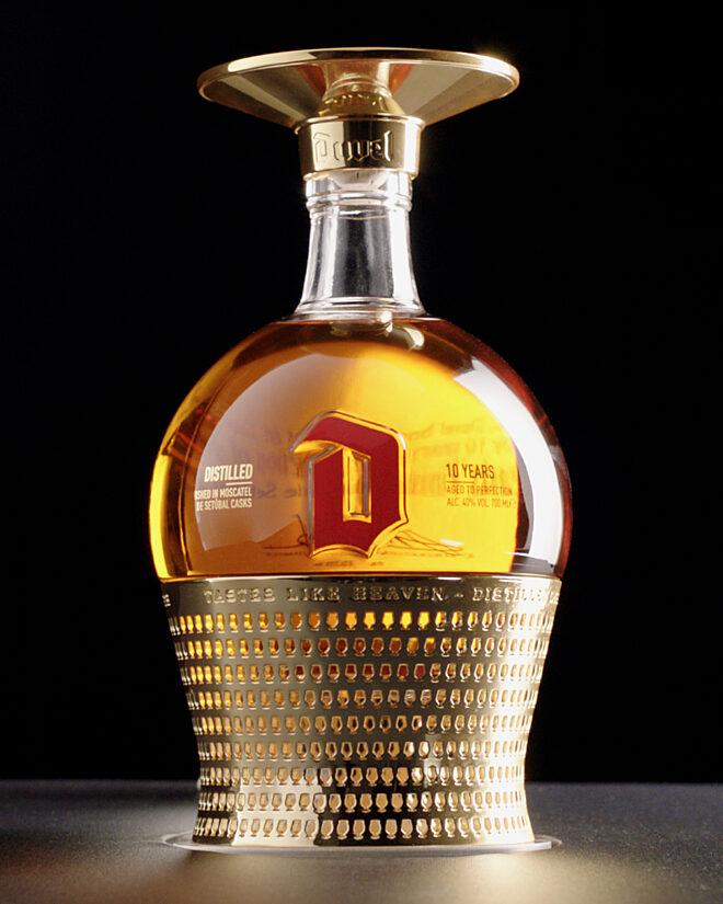 Distillat de Duvel dans une merveilleuse bouteille