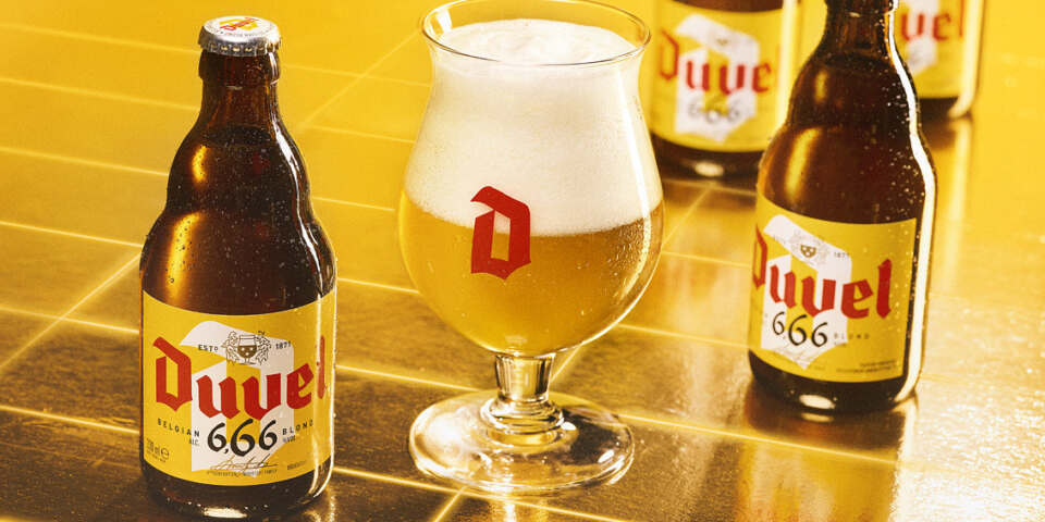 Duvel 6 66 visual with glow