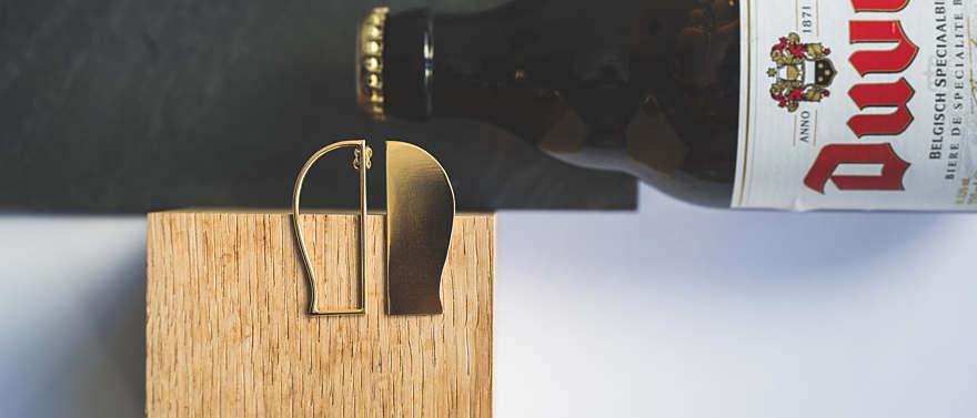 Belgisch juwelenlabel ontwerpt duivelse oorbellen