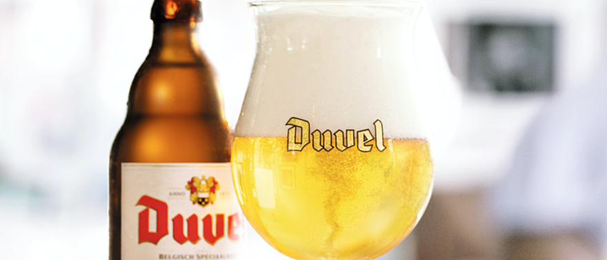 NO OTHER BEER IN THE WORLD IS BREWED WITH SUCH CARE AND DEVOTION AS DUVEL.