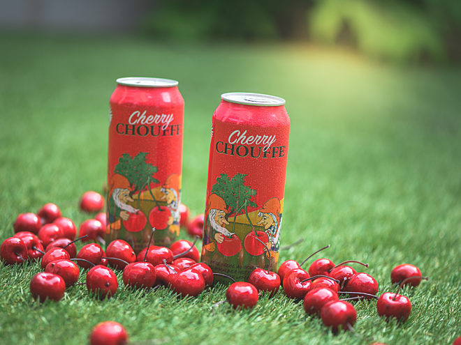 OH MY CHERRY: Cherry Chouffe 50cl canned
