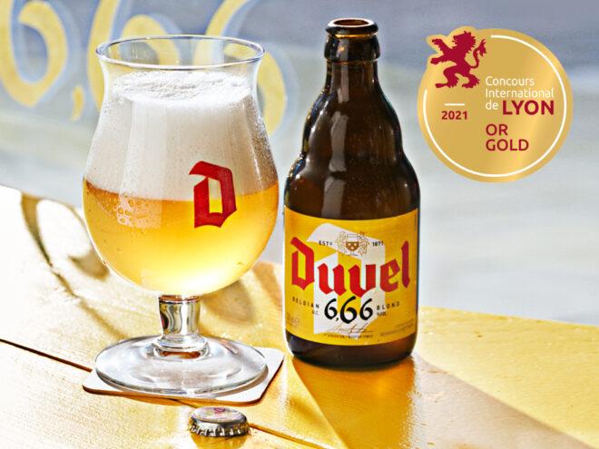 Goud voor Duvel 6,66%
