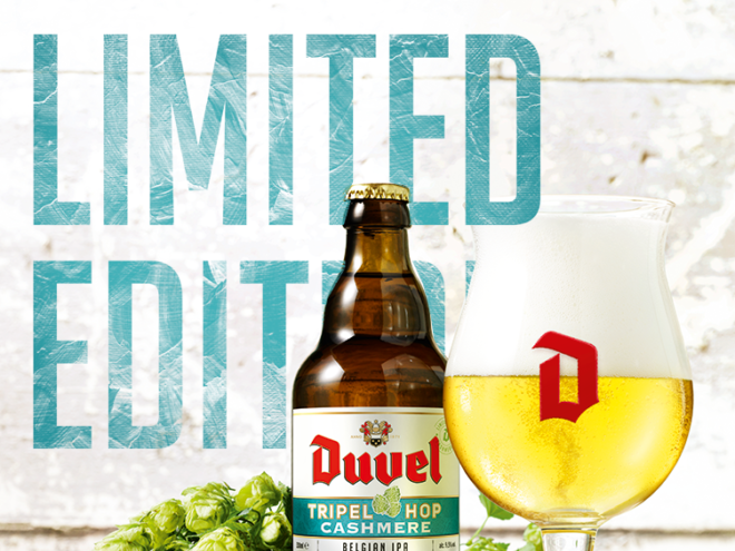Duvel Tripel Hop Cashmere – Limited Edition