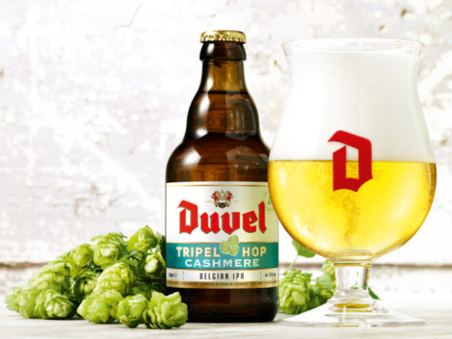 La version IPA de Duvel disponible de façon permanente : Duvel Tripel Hop Cashmere