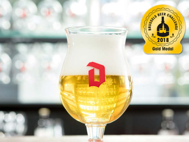 Duvel wins gold Brussels Beer Challenge 2018