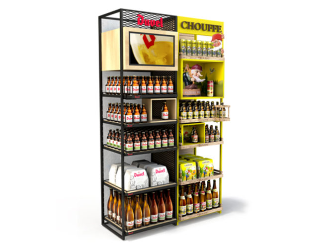 Duvel & Chouffe unveil a prestige display in OFF-Trade!