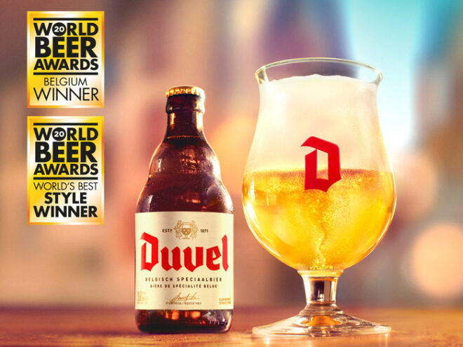 The taste of gold: Duvel verkozen tot World's Best Pale Ale